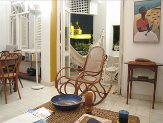 Charming 2 BR Apart. in Heart of Colonial Cartagena, Colombia