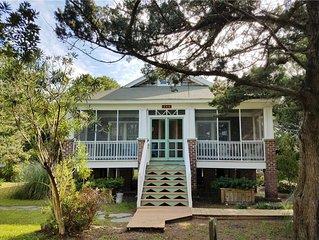Mattie Midgette Cottage:  A taste of old Ocracoke, modern conveniences