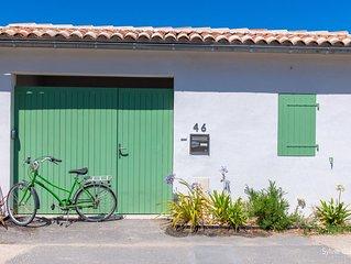 Maison d'architecte au Bois-Plage en Ré à 250 m de la plage du Pas des Boeufs