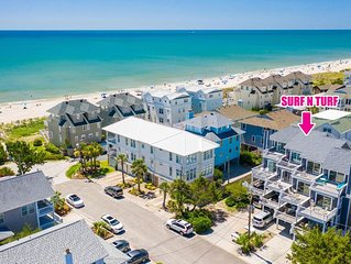 Relaxing townhouse with beautiful ocean views and just steps to the beach!