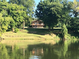 GONE FISHIN' ! Private, Perfect River Views And Peaceful!
