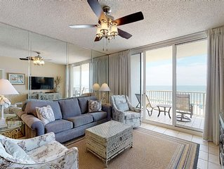 Sounds Of The Beach Will Call You To This Charming 3-Bedroom Condo!