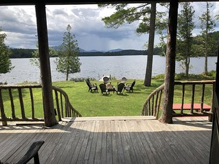 Waterfront Home on Kiwassa Lake, Saranac Lake