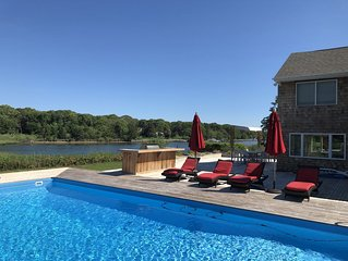 Spectacular, dog friendly, 4 bdrm waterfront with every toy.