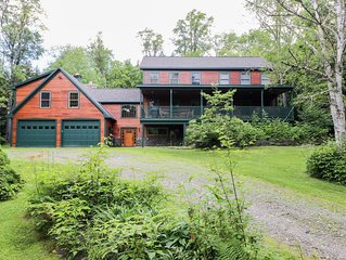 Spectacular Luxurious Ski/Summer Home -1/4 Mile from Sugarbush South/Golf