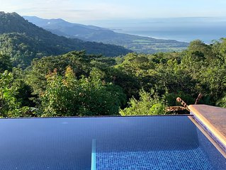 Spectacular Ocean View Jungle Setting In Manuel Antonio and Dominical Area