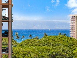 Maui Resort Rentals: Honua Kai Konea 820 – 8th Floor Corner 2BR w/ Partial Ocean