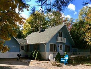 Easy access to Lake Michigan, Pentwater Lake, Silver Lake