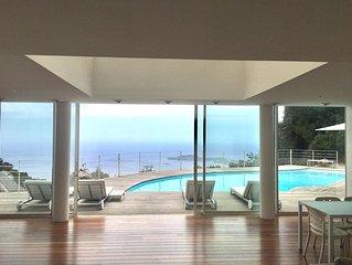 Spectacular Panoramic Views of Cap Ferrat & Beaulieu.