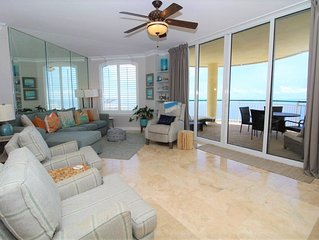 Beach Colony East Penthouse 16B-Beach Front unit with amazing views!