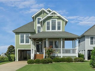 Ballast Point Villa 85: 4 BR / 3 BA house in Manteo, Sleeps 13