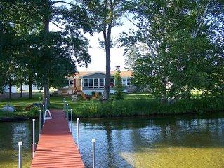 3 Bed, 2 Bath Home on 100' Pickerel Lake