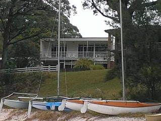 Absolute waterfront, captivating views, direct beach access
