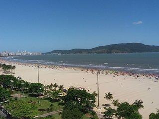 Kitchnete na Avenida da Praia (V812) - Gonzaga – Santos