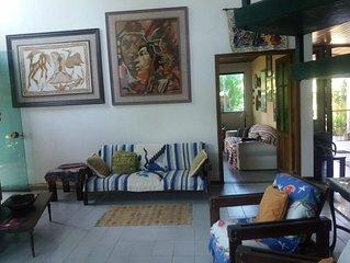 Casa ampla e confortável para até 12 pessoas na Praia de São Lourenço