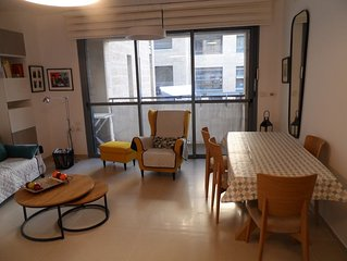 The Excellence: Fully Equipped New 2 BR, Near Emek