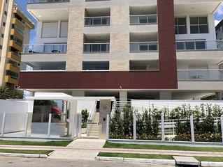 Praia Palmas - Apartamento 3 quartos na frente praia