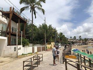 Apartamento T1d em imóvel na primeira linha da Praia