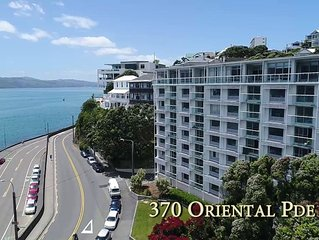 Lux Waterfront on Oriental Bay