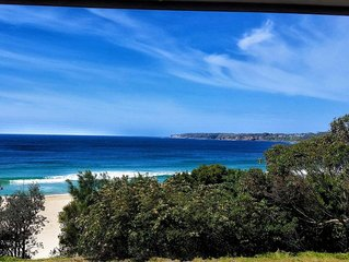 An amazing holiday house right on Mollymook beach