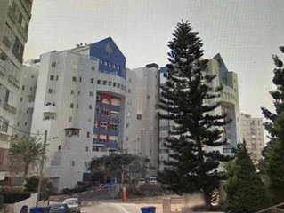 Netanya—Spacious, Kosher, Seaside Apt. for 2 to 16 Guests