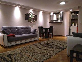 Apartment Dedinje - Free WiFi Free Street Parking - 60 sqm 646 sqft - Entire APT