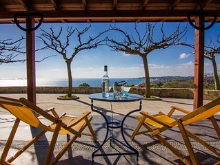 Villa Flora 1,  elevated beach villa with stunning views