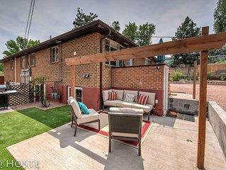 2BR Comfy condo & cute patio Broadmoor area