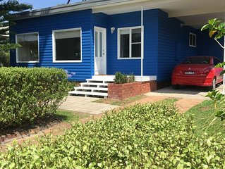 The Blue House at Callala Beach - Dog Friendly