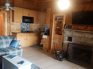 LOST LAKE GETAWAY (Hawks, MI): Relax here--Cozy, all-season cabin! snowmobiler's