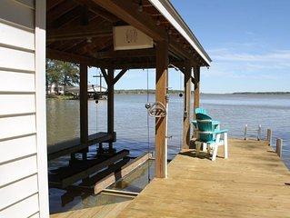 Cozy Quail Shores Lake Gaston Home