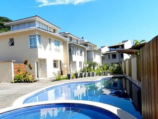 LINDA CASA CAMBURY Casa Cond Fechado 5 Dorms, 300mts Praia, Camburi, S.Sebastião