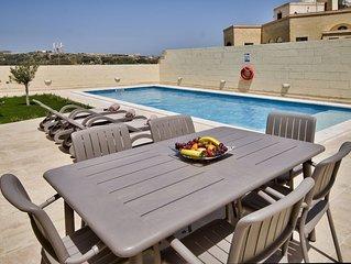 Ta Xandru Holiday Home with pool in Munxar Gozo