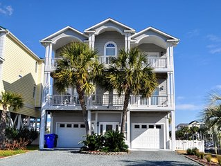 Bring your boat!- Beautiful home on Canal in OIB