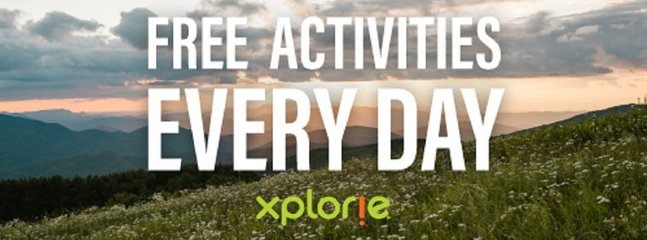 Free activities starting April 1st