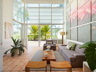 Villa Serenity   Beautiful Caribbean 4 bedroom villa   Pool, beach, tennis and g