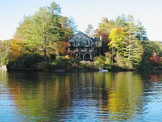 La Chatelaine, BEAUTIFUL LAKEFRONT FRENCH CHATEAU IN HIGHLANDS, NC