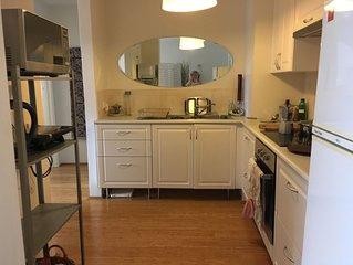 Beautiful, light apartment
