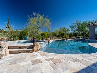 Scottsdale/Cave Creek,AZ 4 BR-3 Full Baths w Heated Pool & Spa -Mountain View!