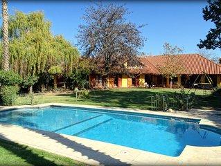 House 'Las palmeras' in Chacras de coria, Mendoza.