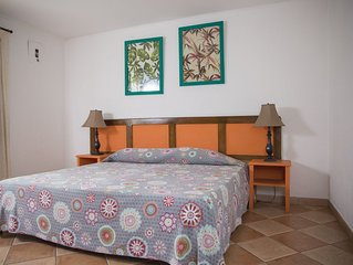Apartaments totally furnished, air conditioned  and fine decorated.