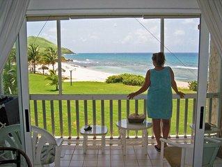 Caribbean Breeze - Luxury Beachfront Condo at Gentle Winds Resort