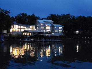 Lakefront Architectural Wonder in the Heart of Osage Beach!  w/ Dock & Hot Tub