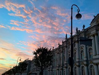 Pearl Plaza in heart of Saint-Peterburg