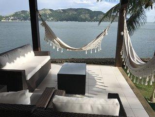 Resort do Hotel Portobello , casa de  5 quartos com praia particular