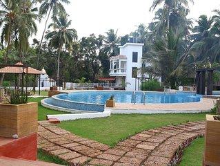1 Bhk Luxury Apartment Aqua de Goa Near Baga Beach