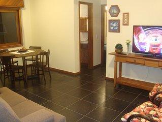 Excelente apartamento de 2 dormitorios - 1 quadra praia, melhor regiao de Capao