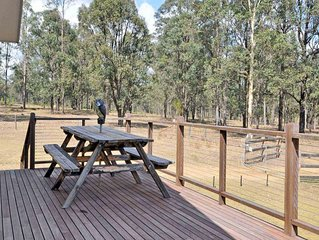 Loxley Cottage on Lovedale, Hunter Valley