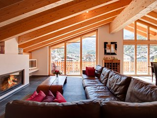 Beautiful 3 Bedroom Penthouse - A Short Walk to the center of Zermatt