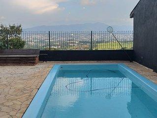 Hospedagem Atibaia casa com piscina